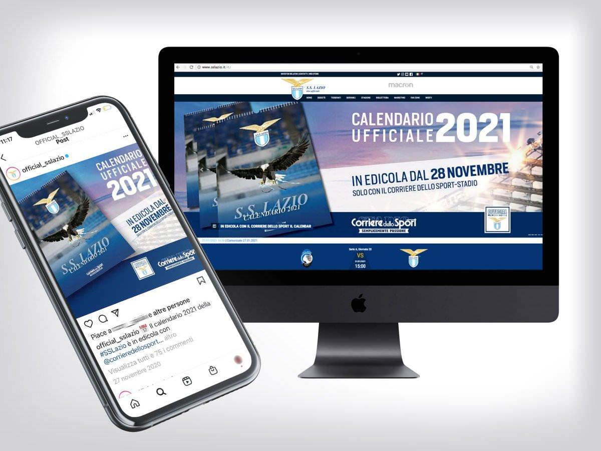 Adversign - ADV per calendario ufficiale SS Lazio