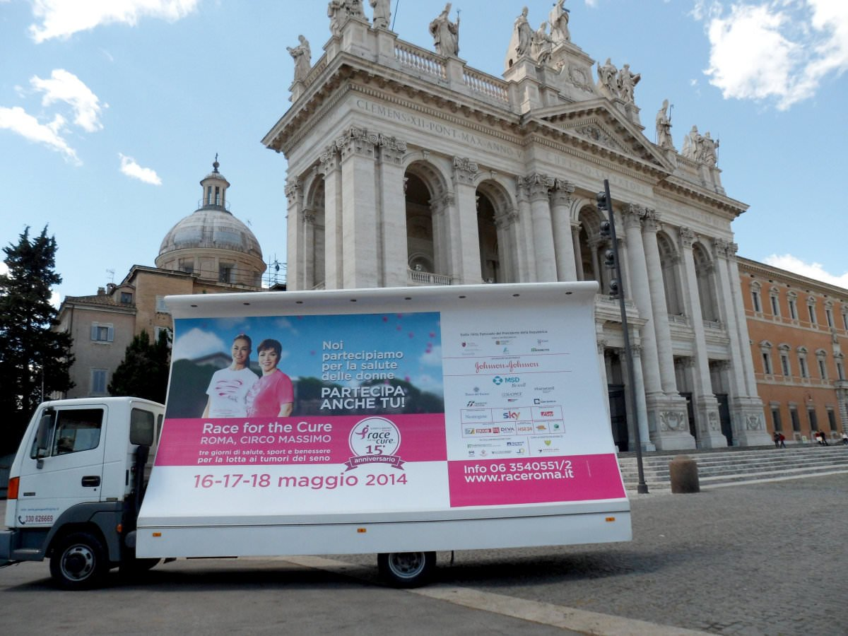 Adversign per Race for the Cure