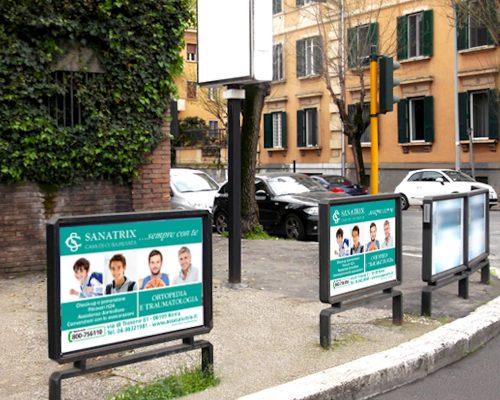 Clinica Sanatrix Progettazioe e realizzazione campagna pubblicitaria