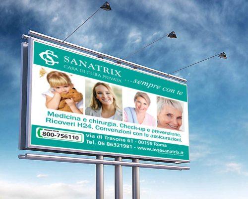 Clinica Sanatrix Progettazione e realizzazione campagna pubblicitaria